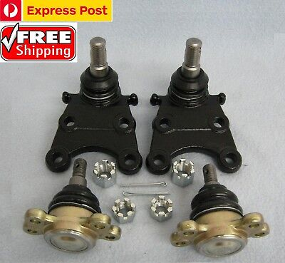 Free Postage Holden Rodeo 4WD TFR TFS Lower + Upper Ball Joint  Full Set 89-2003