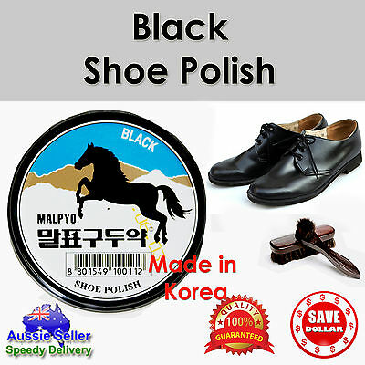 Shoe Polish Conditioner Cleaner Black Shine Nourish Protect Wax Leather Care
