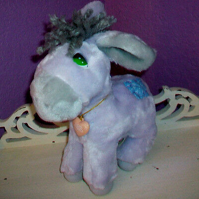 Applause Precious Moments 1985 Plush Donkey Roly Slow Me Down Lord Locket