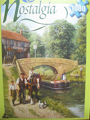 Nostalgia Jigsaw Puzzle - 1000 Piece Summer On The Canal By Holdson
