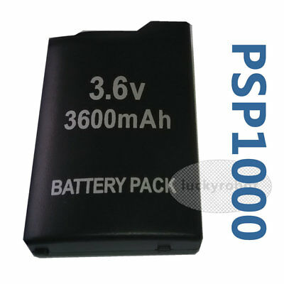 3600mah Replacement Battery for Sony PSP 1000 1001 1002 1003 1004 1005 1006
