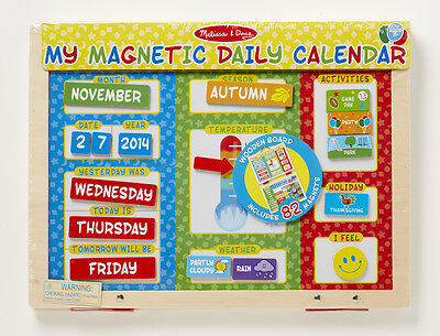 Play & Learn! What is Today? My First Daily Magnetic Calendar # 9253