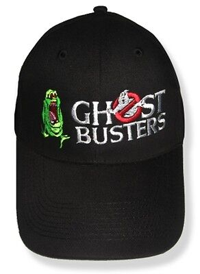 The Real Ghostbusters Slimer & Logo Embroidered Hat Ecto 1 Venkman Stantz Cap