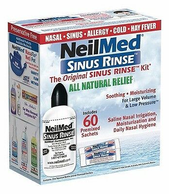 Best Price!  Neilmed Original Sinus Rinse Kit With 60 Premixed Sachets Discount