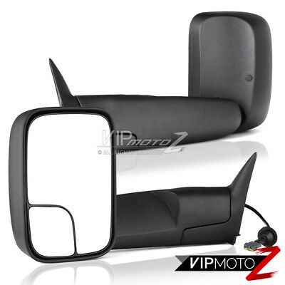 [POWER ADJUSTMENT] 1994-1997 Dodge Ram 1500 2500 3500 Towing Side View Mirrors