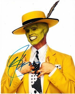 Jim Carrey Signed 8X10 Photo Authentic Autograph Proof The Mask Dumb And Dumber