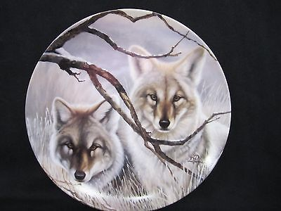 Collectors Plate Eyes of the Wild Fifth Issue Eyes of Silence