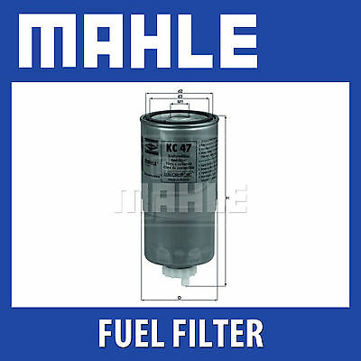Mahle Fuel Filter KC47 - Fits BMW, Land Rover - Genuine Part