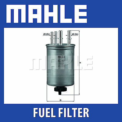 Mahle Fuel Filter KL451 - Fits Jaguar 2.7 Tdi - Genuine Part