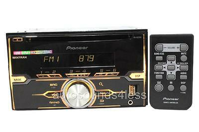 Pioneer FH-X520UI Double Din MP3/CD/WMA Player Pandora Link Front USB AUX Input