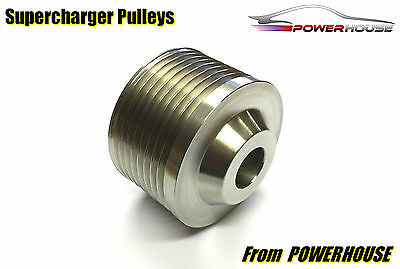 Range Rover Sport 5.0 Supercharger Upper Pulley Performance Upgrade Stainless