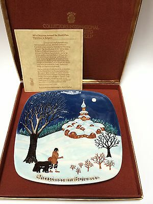 John Beswick Limited Royal Doulton Christmas Around The World In Bulgaria Plate