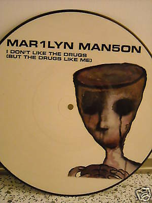 """# Marilyn Manson I DON'T LIKE DRUGS PICT.DISC 1999 ITA MIX 12"""""""