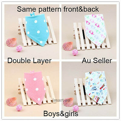 Baby bibs boys girls infants feeding bibs bandana dribble bibs newborn toddler