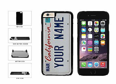 Personalized Custom California License Plate Plastic Case For iPhone 6 (4.7 In)