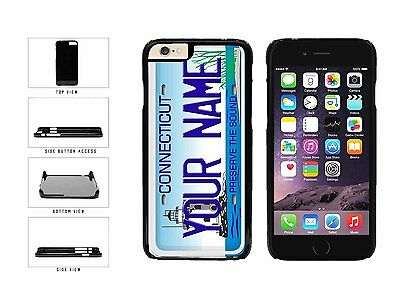 Personalized Custom Connecticut License Plate Plastic Case For iPhone 6 (4.7 In)