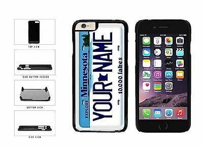 Personalized Custom Minnesota License Plate Plastic Case For iPhone 6 (4.7 In)