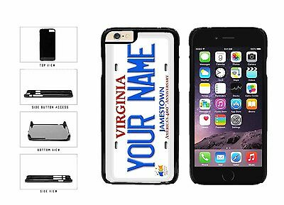 Personalized Custom Virginia License Plate Plastic Case For iPhone 6 (4.7 In)