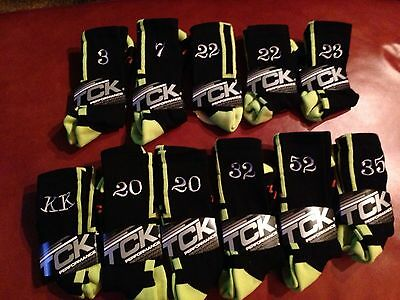 Elite Style - Lot Of 10 Pairs- Dri Fit Socks with Personalize # $129.99