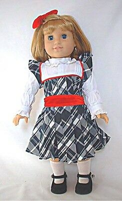 """Doll Clothes 18"""" Doll Victorian Dress Fit American Girl Doll Nellie"""