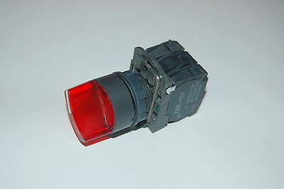22mm ILLUMINATED Selector switch 3 Position Fits RED XB5AK134M5 220V Maintained
