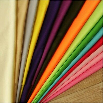 "Polyester Lining Fabric Silk Habutae 60"" Wide Habotai 100% Poly Sold By The Yard"