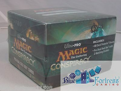 Conspiracy Mtg Limited Edition Ultra Pro Pro-Dual Deck Box Combo For Mtg