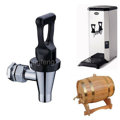 New Chrome Brass Cold&Hot Water Faucet Coffee Water Dispenser Spigot Valve Tap