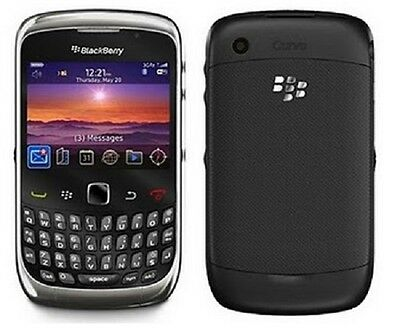 NEW UNLOCKED Blackberry AT&T Mobile GSM Curve 3G WIFI Smartphone