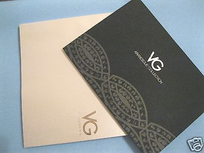 2 Kataloge VG Arabesque Collection 2012 + SET Arrangement 2011 incl. Preislisten