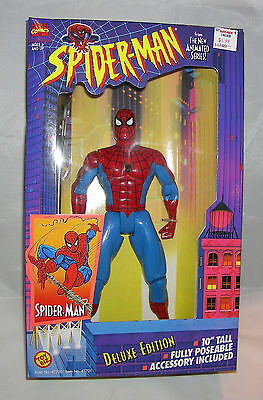 """Marvel Comics 10"""" Tall Spider Man Carnage Deluxe Edition Action Figure 1994"""