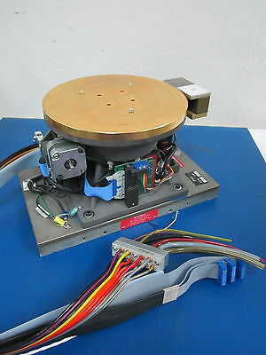 """Temptronic Thermal Inducing Vacuum Platform 8.25"""" Gold Plated"""