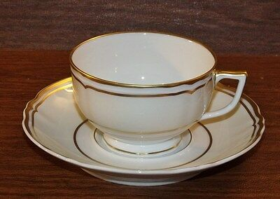 Raynaud Limoges POLKA GOLD Cup & Saucer