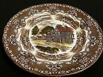 Grindley English Country Inns China Brown Permanent Colours set