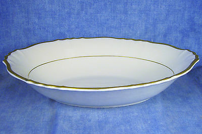 Syracuse Old Ivory Federal Brantley Oval Vegetable Bowl 10 1/2""
