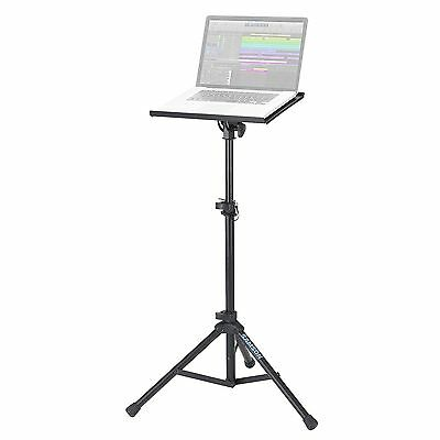 Samson LTS50 Tripod Base DJ Laptop / Tablet Stand in Black Finish
