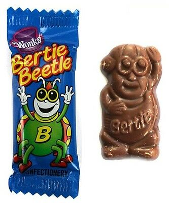 Bulk x 50 Bertie Beetle Chocolates Honeycomb Candy Buffet Party Favours