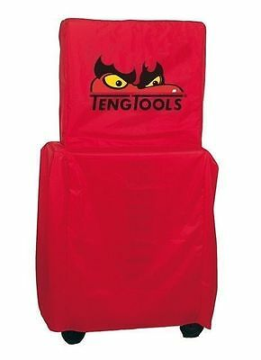 Teng Tools Top Box Roller Cab Stack System Full Toolbox Cover * Red *