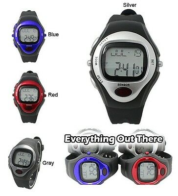 Pulsometer Pulse Calorie Watch Noctilucent Heart Rate Monitor Sports Strapless