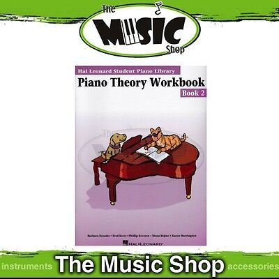 New HLSPL Piano Theory Workbook Book 2 - Hal Leonard Student Piano Library