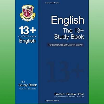 13+ English Study Book For The Common Entrance Exams (with Online Edition) Cgp B