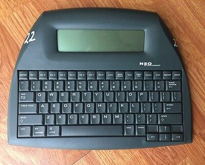 NEO AlphaSmart Portable Word Processor Writing Tool/USB cable/New Batteries