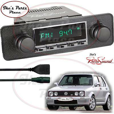 RetroSound VW Rabbit&Golf Hermosa-C Radio/RDS/USB/Mp3/3.5mm AUX-In -Blaupunkt