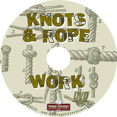 Knots rope work vintage how to tie and splice books on dvd knots rope work vintage how to tie and splice books on dvd fandeluxe Gallery