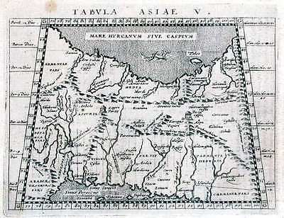 Antique map, Tabula Asiae V