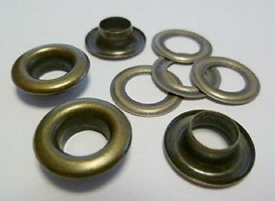 125 Pieces EYELETS 3,0 mm rust-free ANTIQUE RIVETS,f. SPINDLE PRESS,EYELET PRESS