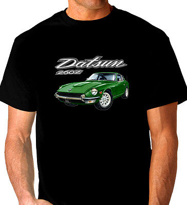 Datsun  260Z   Fairlady   Coupe   Black  T-Shirt    Men's  Ladies  Kid's   Sizes