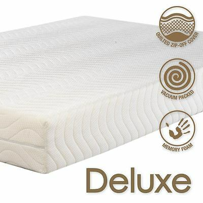 Deluxe 3000 Memory foam Mattress Premium  Best Quality 5* - All European Sizes