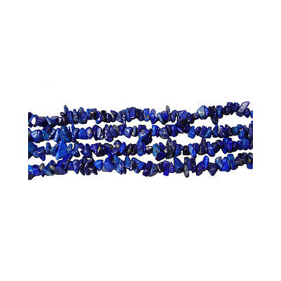 "Lapis Chip Gemstone Beads Approx 36"" Strand"