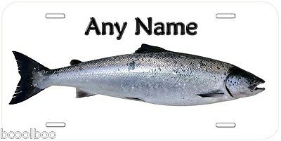 Wild Baltic Salmon Personalized Novelty Aluminum Car License Plate P01